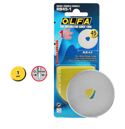 Olfa Blade replacement - 45mm - MaaiDesign