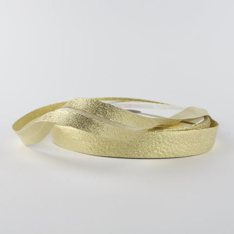 Gold Bias Binding - 18mm - MaaiDesign