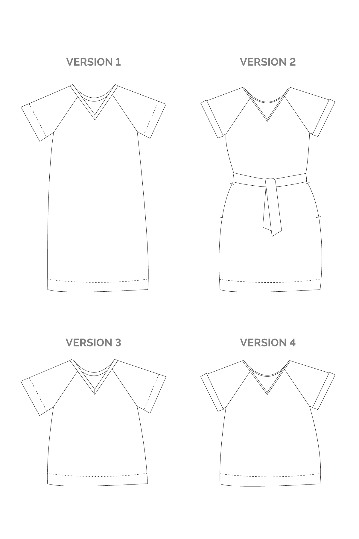 River | Sewing Pattern - MaaiDesign