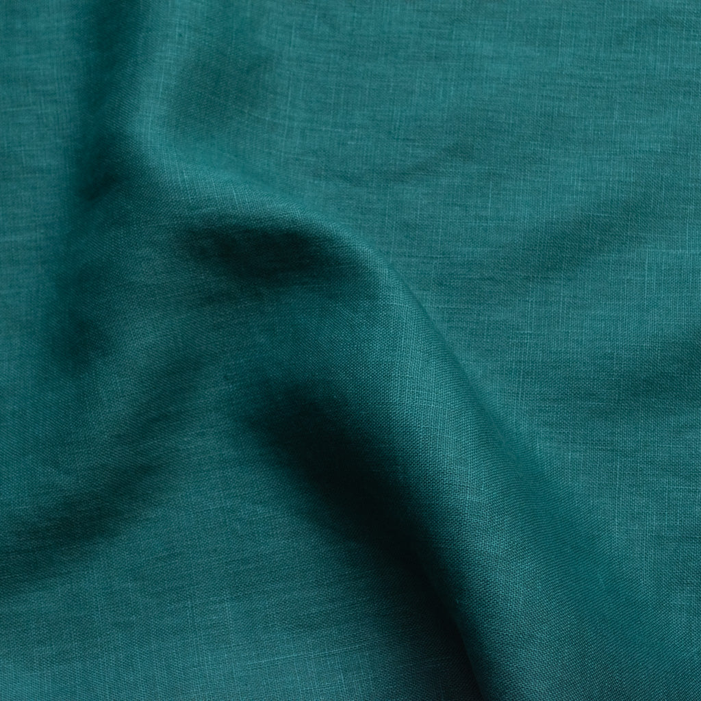 Heavy Linen - Emerald Green - MaaiDesign