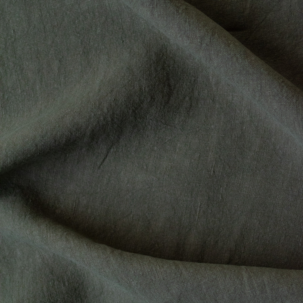 Washed Linen - Olive - MaaiDesign