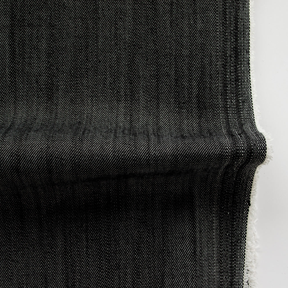 Japanese Stretch Tencel Denim - Charcoal - MaaiDesign