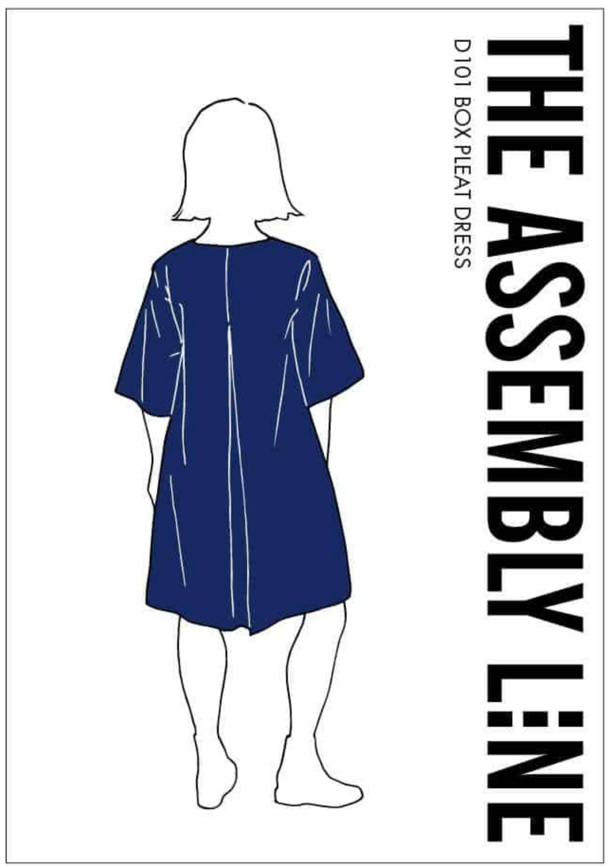 Box Pleat Dress - The Assembly Line - MaaiDesign