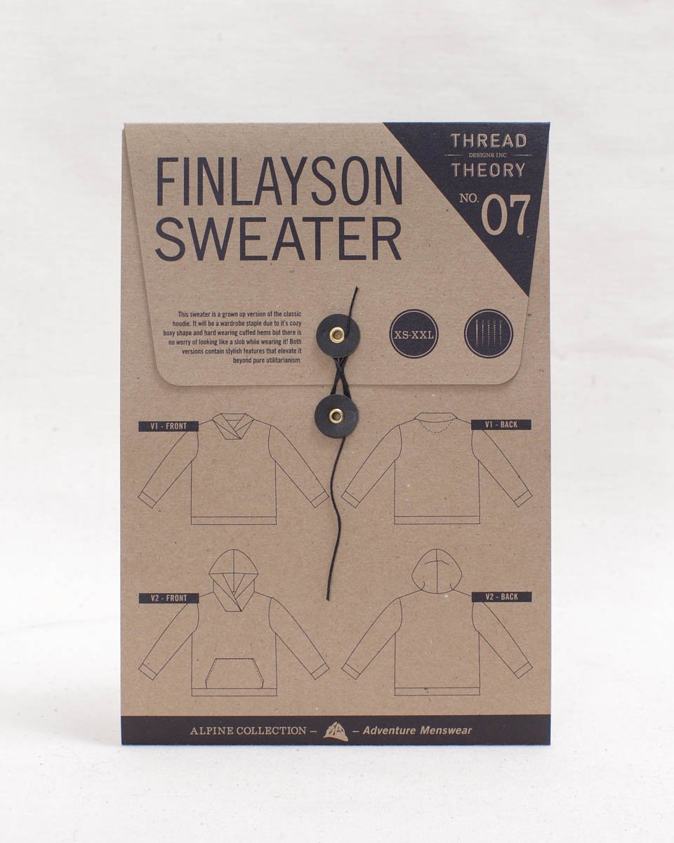 Finlayson Sweater | Sewing Pattern - MaaiDesign