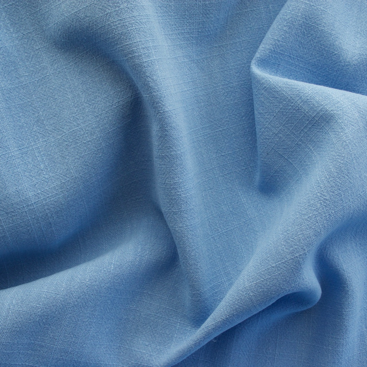 Viscose Linen Noil - Cornflower Blue - MaaiDesign