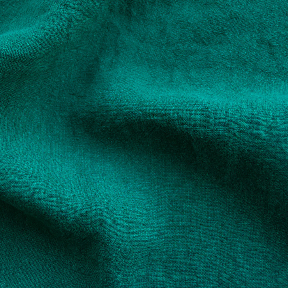 Washed Linen - Emerald - MaaiDesign
