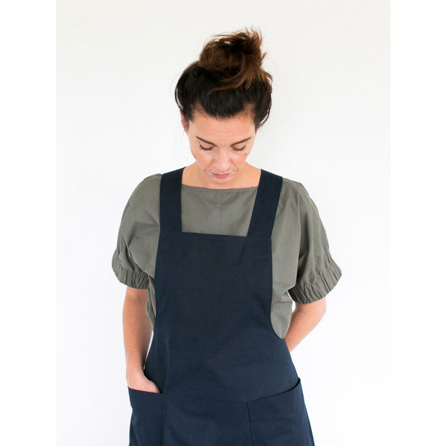 Apron Dress - The Assembly Line - MaaiDesign