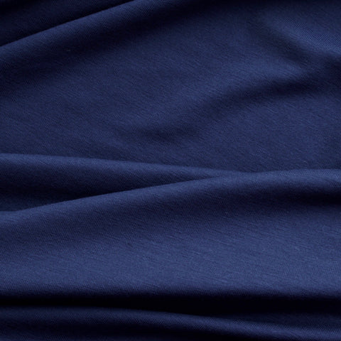 Heavy Bamboo Jersey - Navy Blue - MaaiDesign