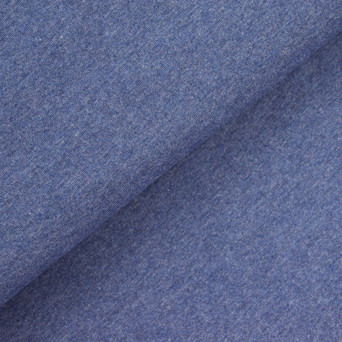 Cotton Jersey - Blue Marle - MaaiDesign