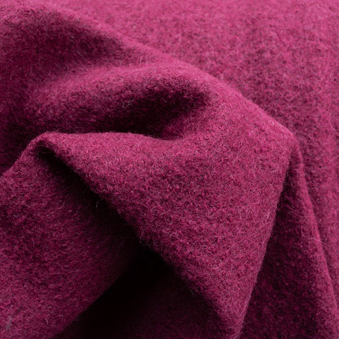 Boiled Wool - Merlot - MaaiDesign