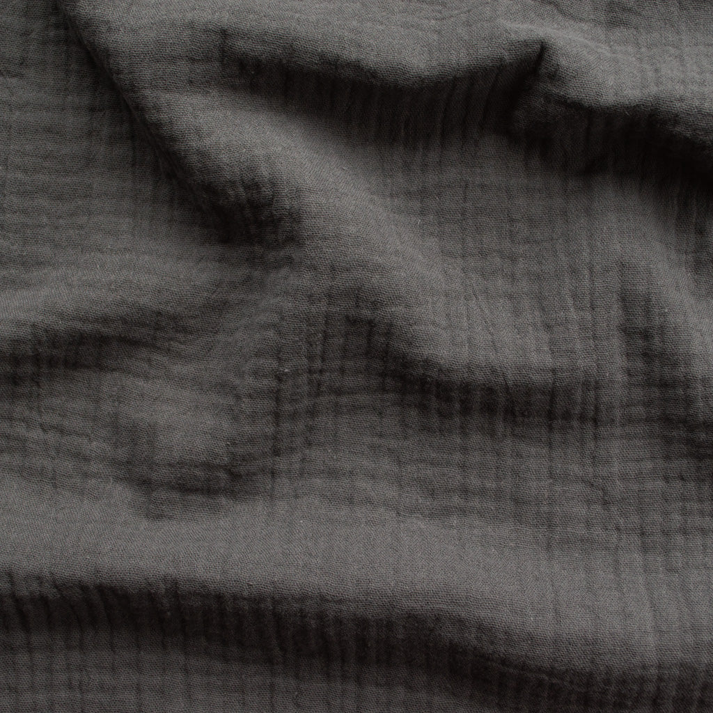 Double Gauze Cotton - Slate Grey - MaaiDesign