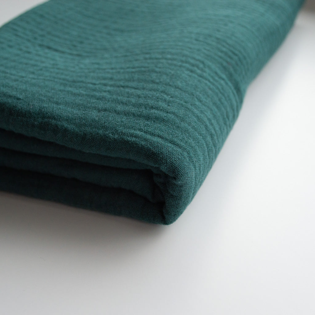 Double Gauze Cotton - Spruce Green - MaaiDesign