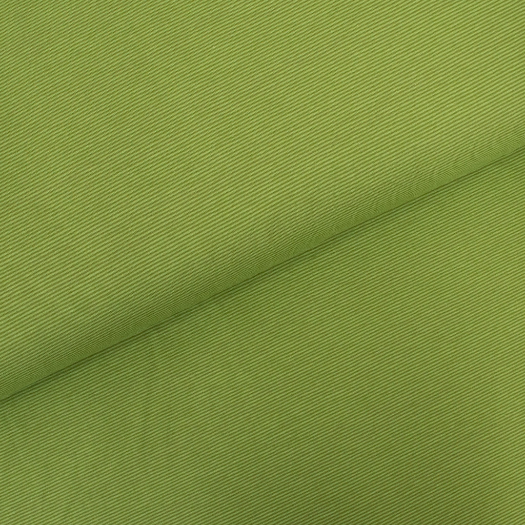 Cotton Jersey - Green Thin Stripes - MaaiDesign
