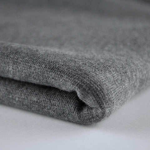 Dark Grey Marle Ribbing - MaaiDesign