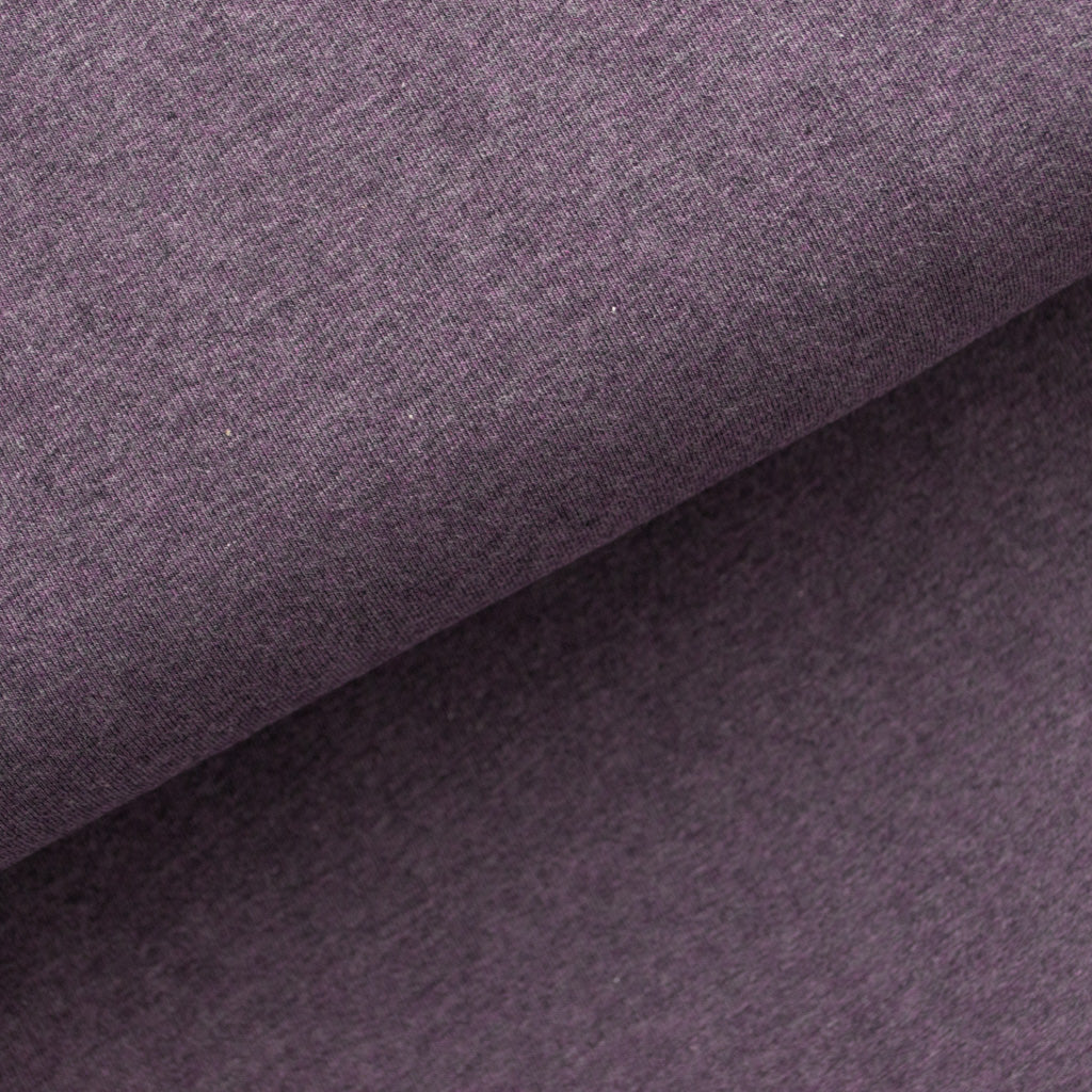 Cotton Jersey - Deep Purple Marle - MaaiDesign