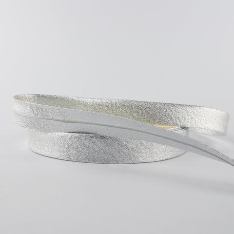Silver Bias Binding - 18mm - MaaiDesign