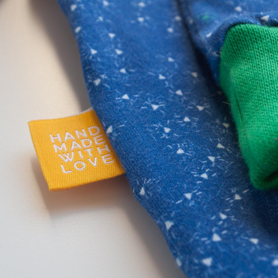 Woven Label - Hand made with love - MaaiDesign