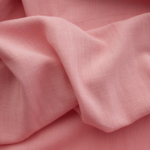 Viscose Linen Noil - Light Pink - MaaiDesign