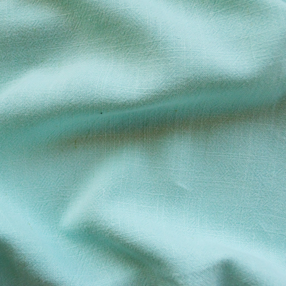 Viscose Linen Noil - Cool Mint - MaaiDesign