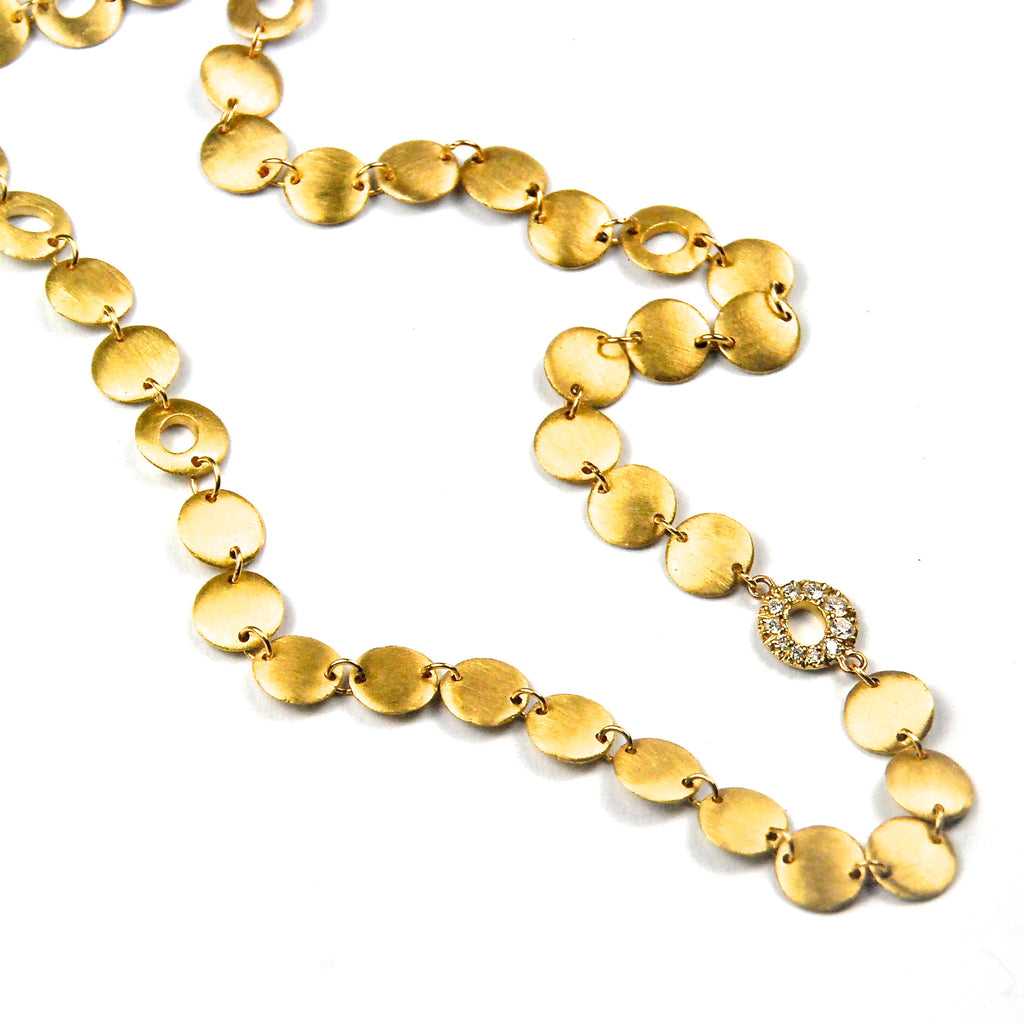 Signature Halo Strand Necklace by Samantha Louise Jewelry