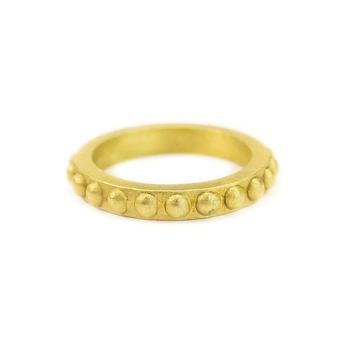 GOLD BAND WITH BEADS - ONLINE EXCLUSIVE
