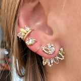 BOUQUET CLUSTER EAR CUFF