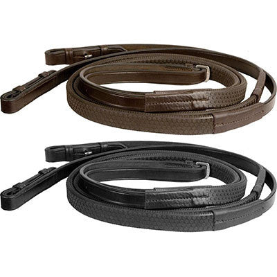 Bobbys English Tack Flat Rubber Reins