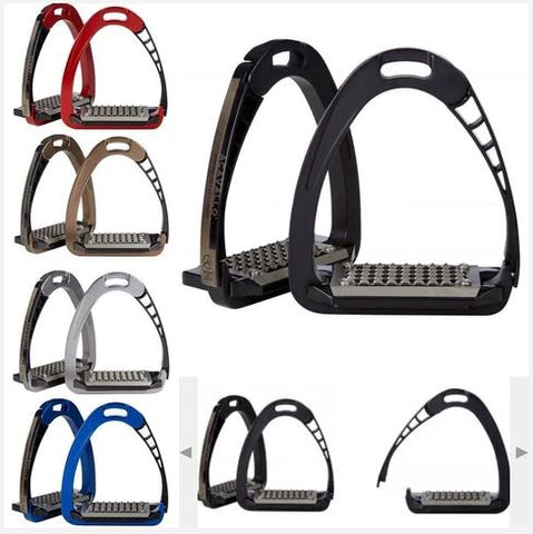Acavallo Arena Alupro Aluminum Safety Stirrups