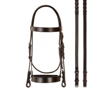 Bobby's English Tack Hunt Bridle