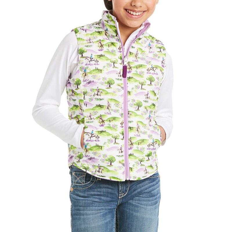 Ariat Emma Reversible Insulated Kids Vest
