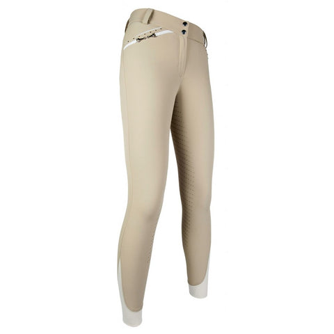 CLOSEOUT - HKM Santa Rosa Silicone Full Seat Women's Breeches