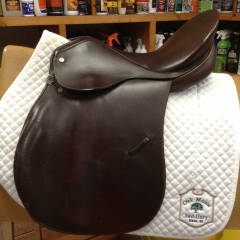 Crosby Corinthian Spring Seat English Saddle - 17""