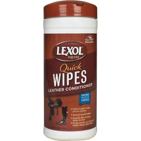 Lexol® Leather Conditioner Quick Wipes