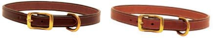Tory Leather Dog Collar