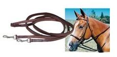 Tory Leather Breast Strap Draw Reins