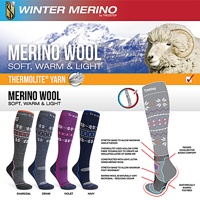 Tredstep Merino Winter Socks