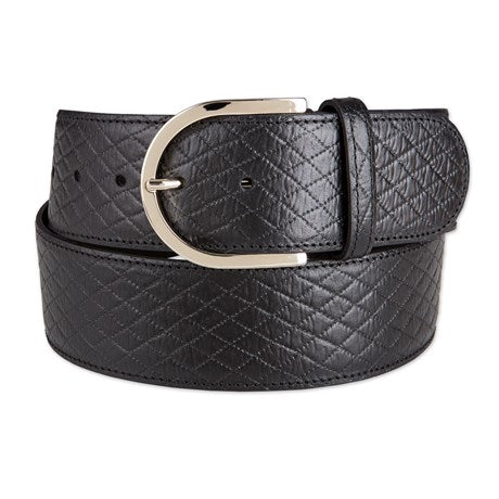 The Tailored Sportsman Mini Quilt Leather Belt