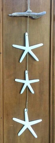 5 Starfish Wall Hanging
