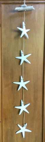 3 Starfish Wall Hanging