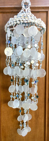 Seashell Dreamcatcher Mobile