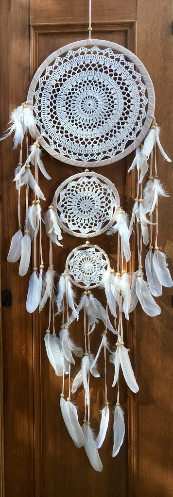 3 Tier Crochet Dreamcatcher