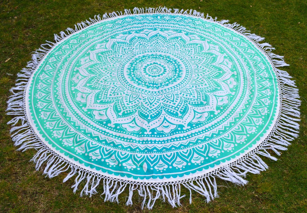 Round Gypsea Tapestry