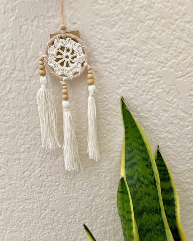 Macrame Crochet Dreamcatcher