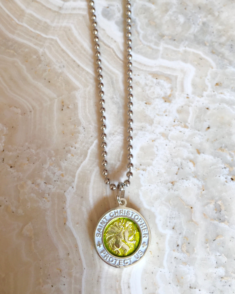Saint Christopher Necklace - Small