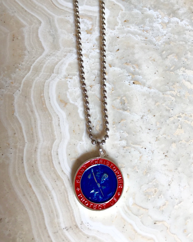 Saint Christopher Necklace - Large