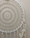 Large Crochet Dreamcatcher