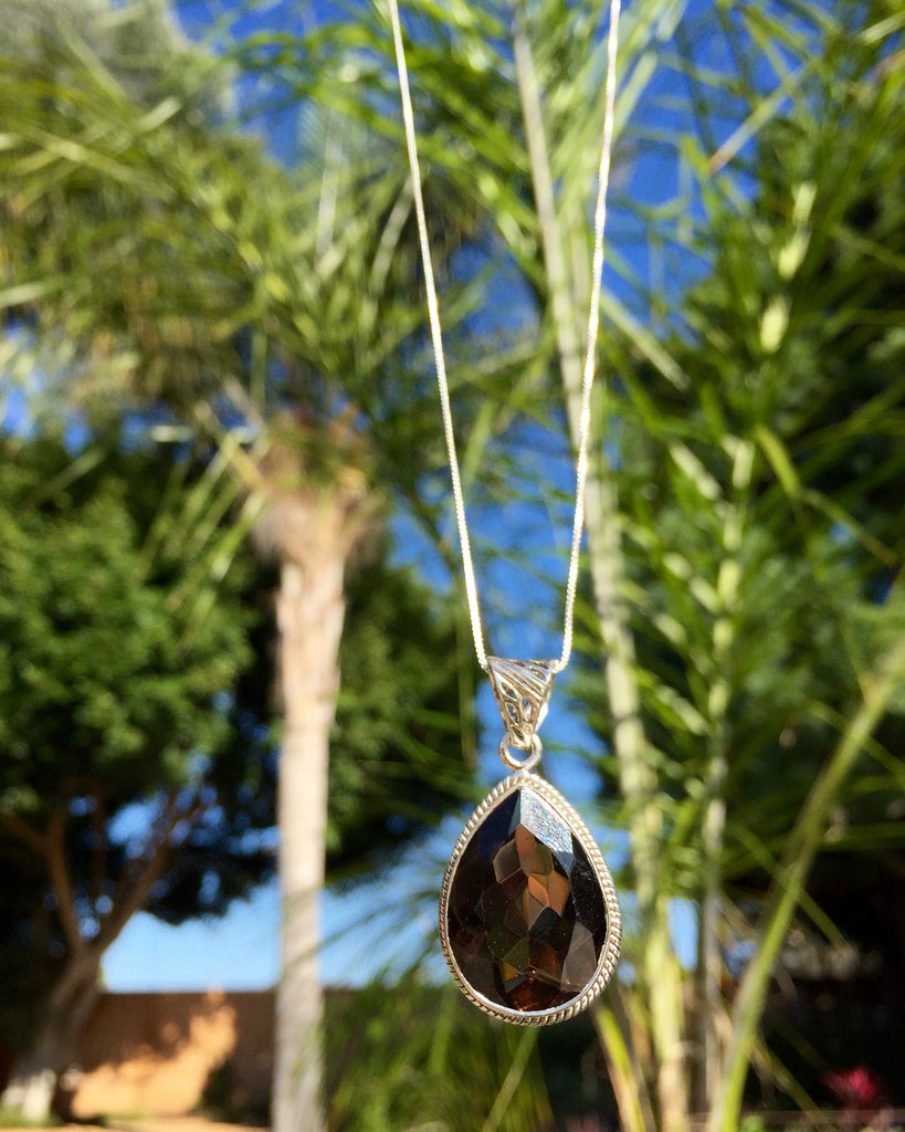 Smokey Quartz Bliss Necklace