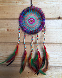 Crochet Beaded Dreamcatcher Small