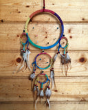 Stone Chip Rainbow Dreamcatcher