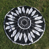 Dreamcatcher Round Fringe Towel